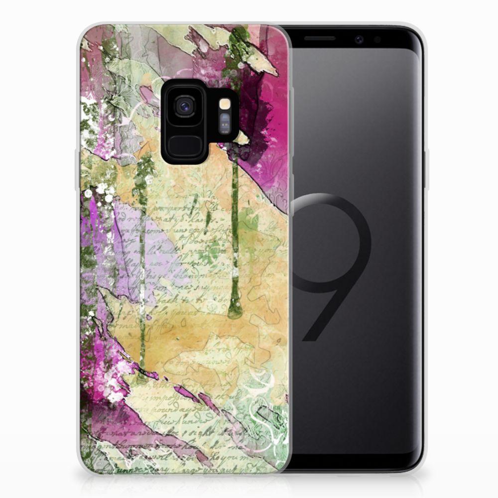 Hoesje maken Samsung Galaxy S9 Letter Painting