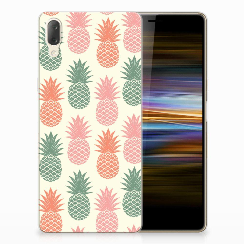 Sony Xperia L3 Siliconen Case Ananas