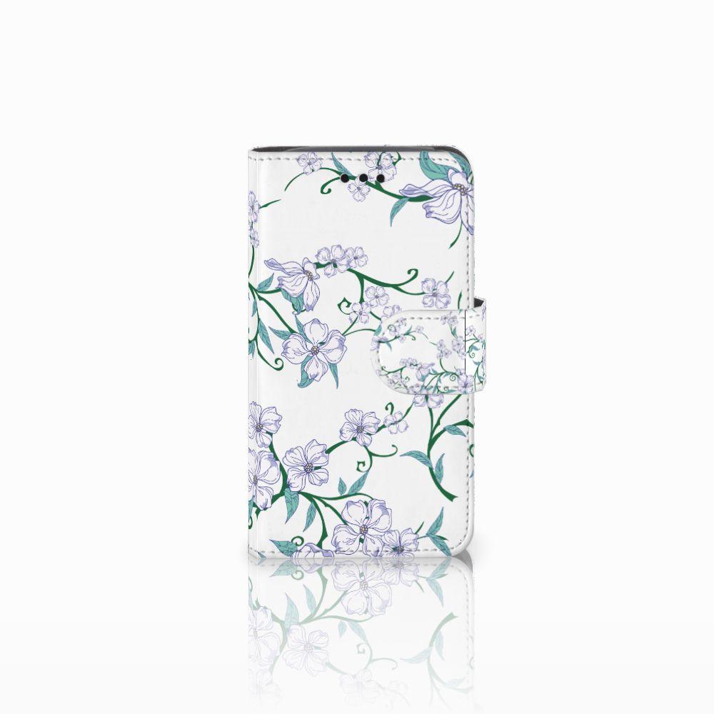 Samsung Galaxy Core i8260 Uniek Boekhoesje Blossom White
