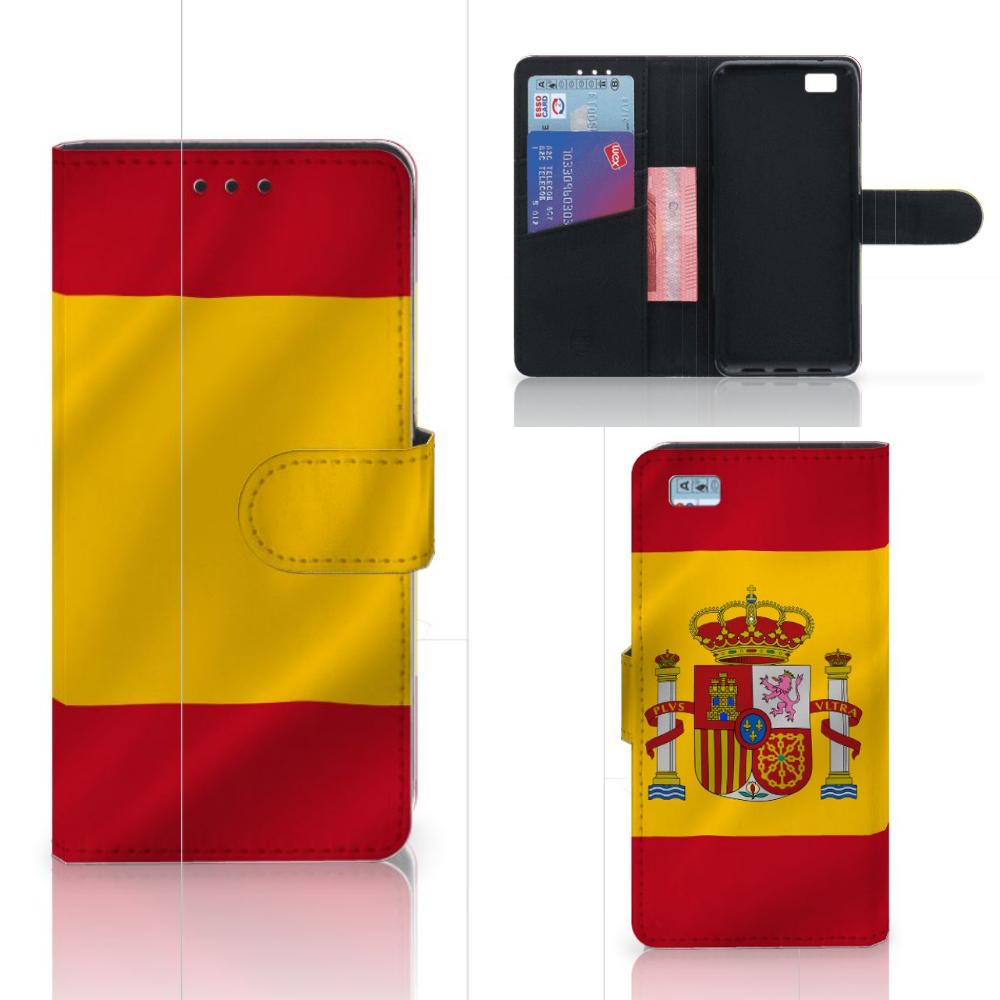 Huawei Ascend P8 Lite Bookstyle Case Spanje