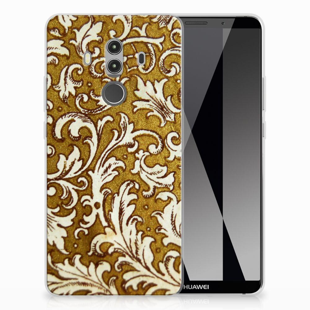 Siliconen Hoesje Huawei Mate 10 Pro Barok Goud
