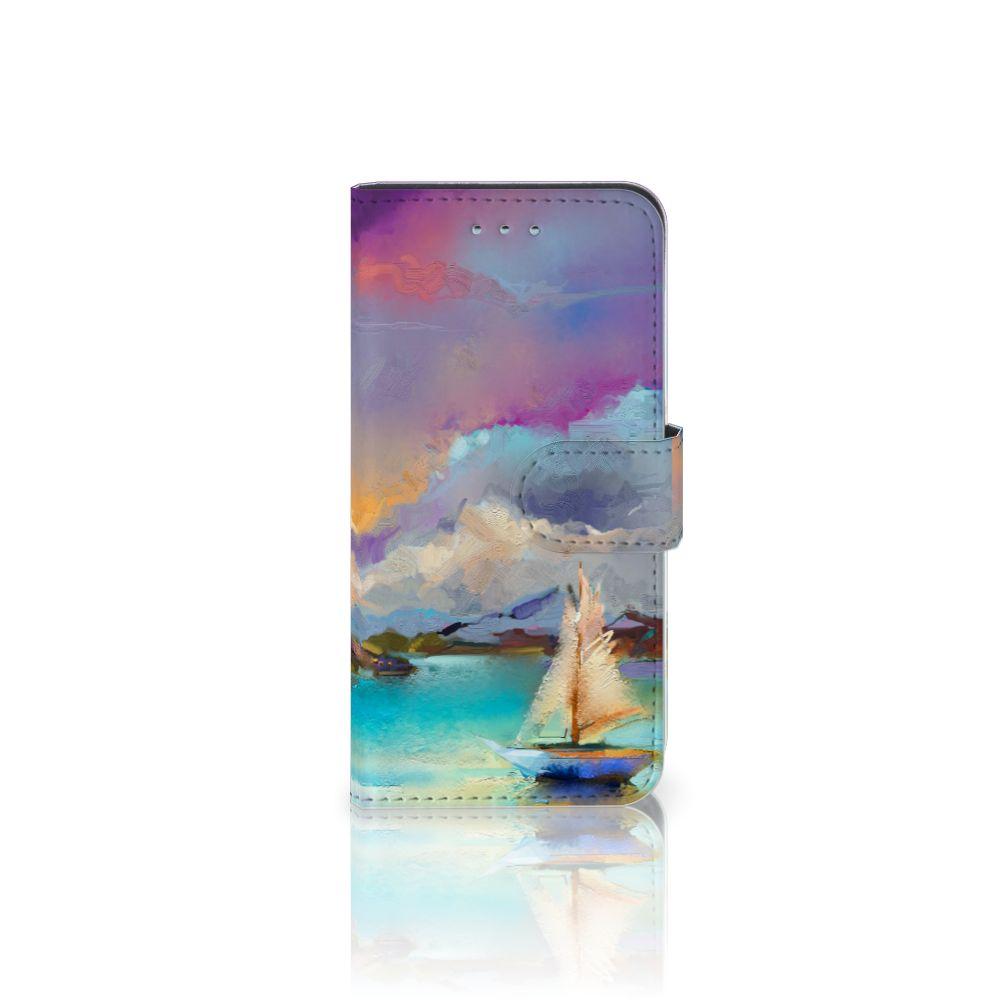 Samsung Galaxy S6 | S6 Duos Uniek Boekhoesje Boat