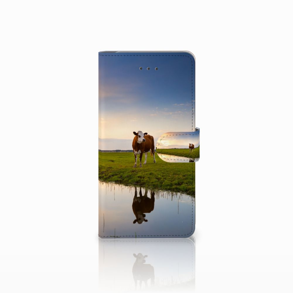 Samsung Galaxy J7 (2018) Boekhoesje Design Koe
