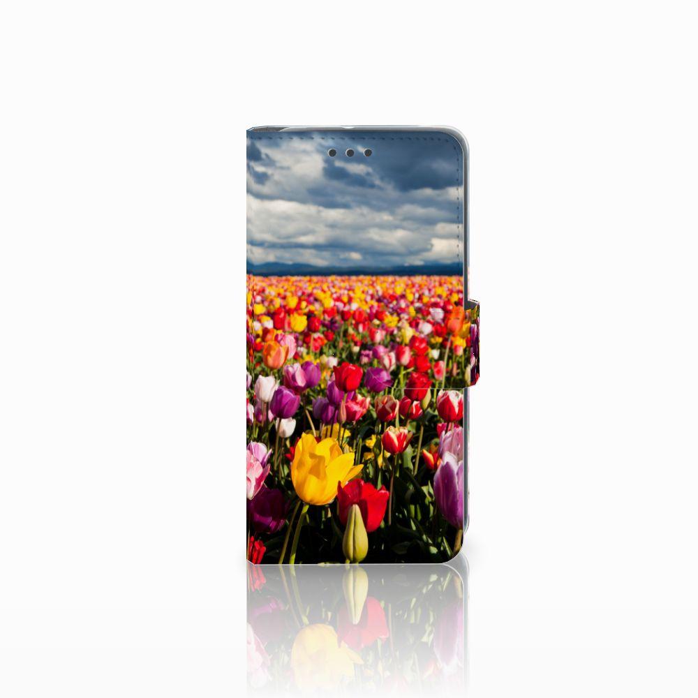 HTC U11 Life Uniek Boekhoesje Tulpen