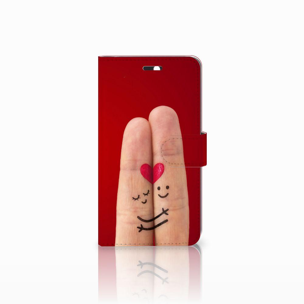 Huawei Y6 II | Honor 5A Uniek Boekhoesje Liefde