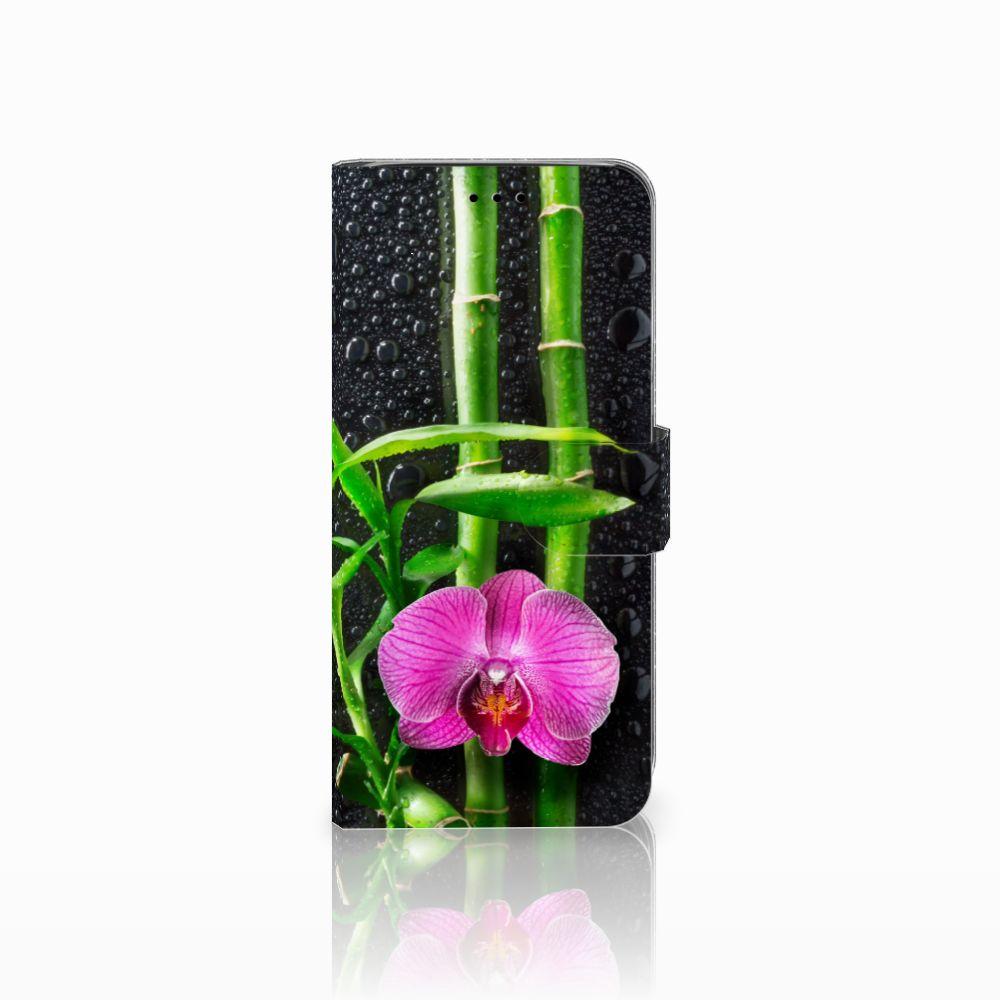 Samsung Galaxy A6 2018 Boekhoesje Design Orchidee