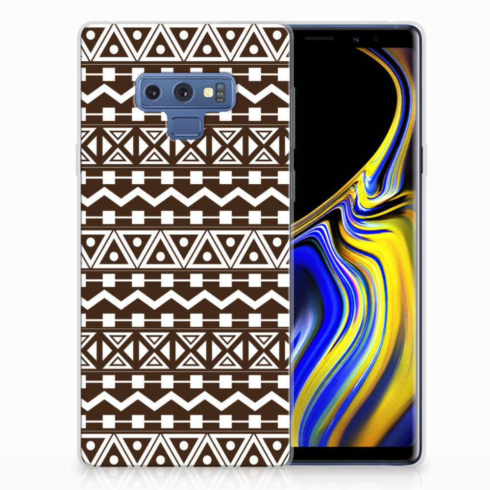 Samsung Galaxy Note 9 TPU bumper Aztec Brown