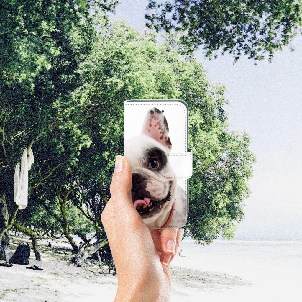 Apple iPod Touch 5 | 6 | iPod (2019) Telefoonhoesje met Pasjes Franse Bulldog