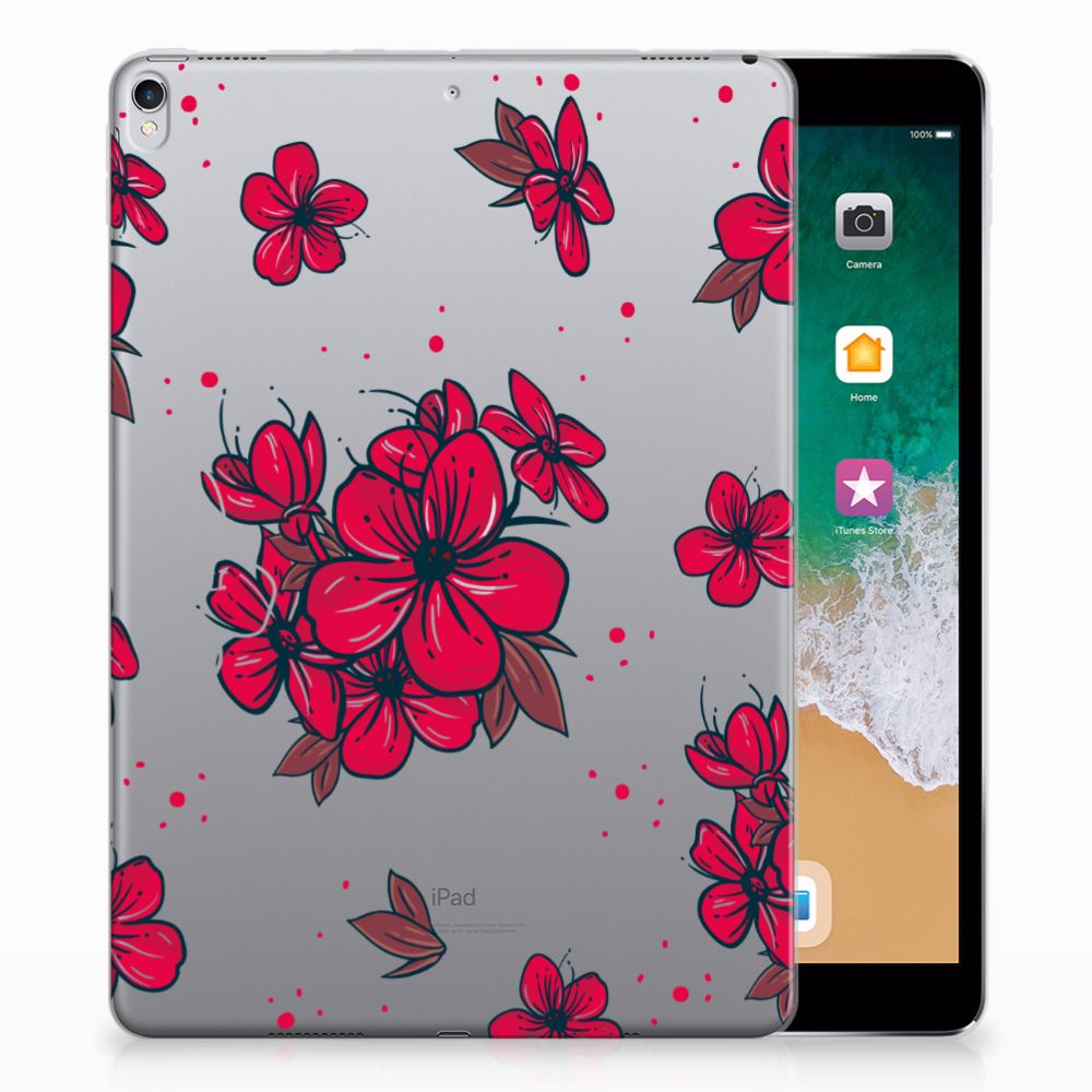 Apple iPad Pro 10.5 Tablethoesje Design Blossom Red
