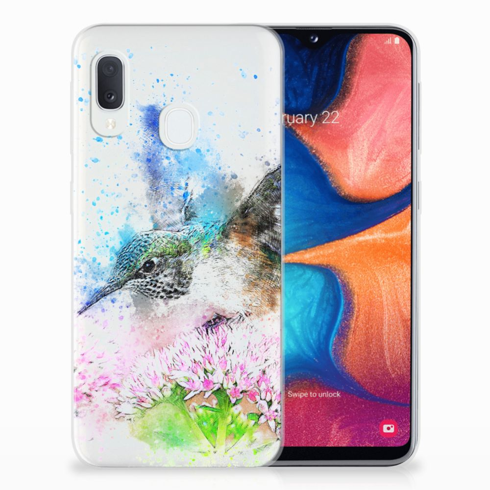 Hoesje maken Samsung Galaxy A20e Vogel