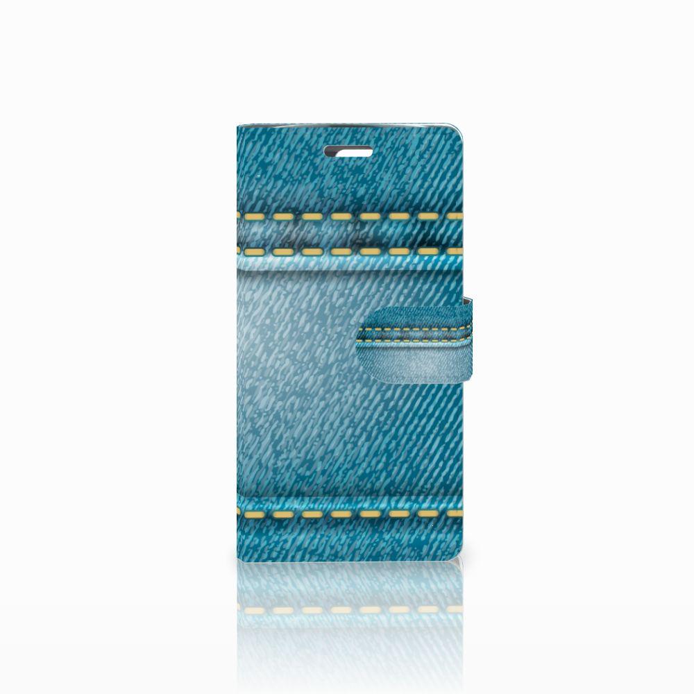 LG K10 2015 Boekhoesje Design Jeans
