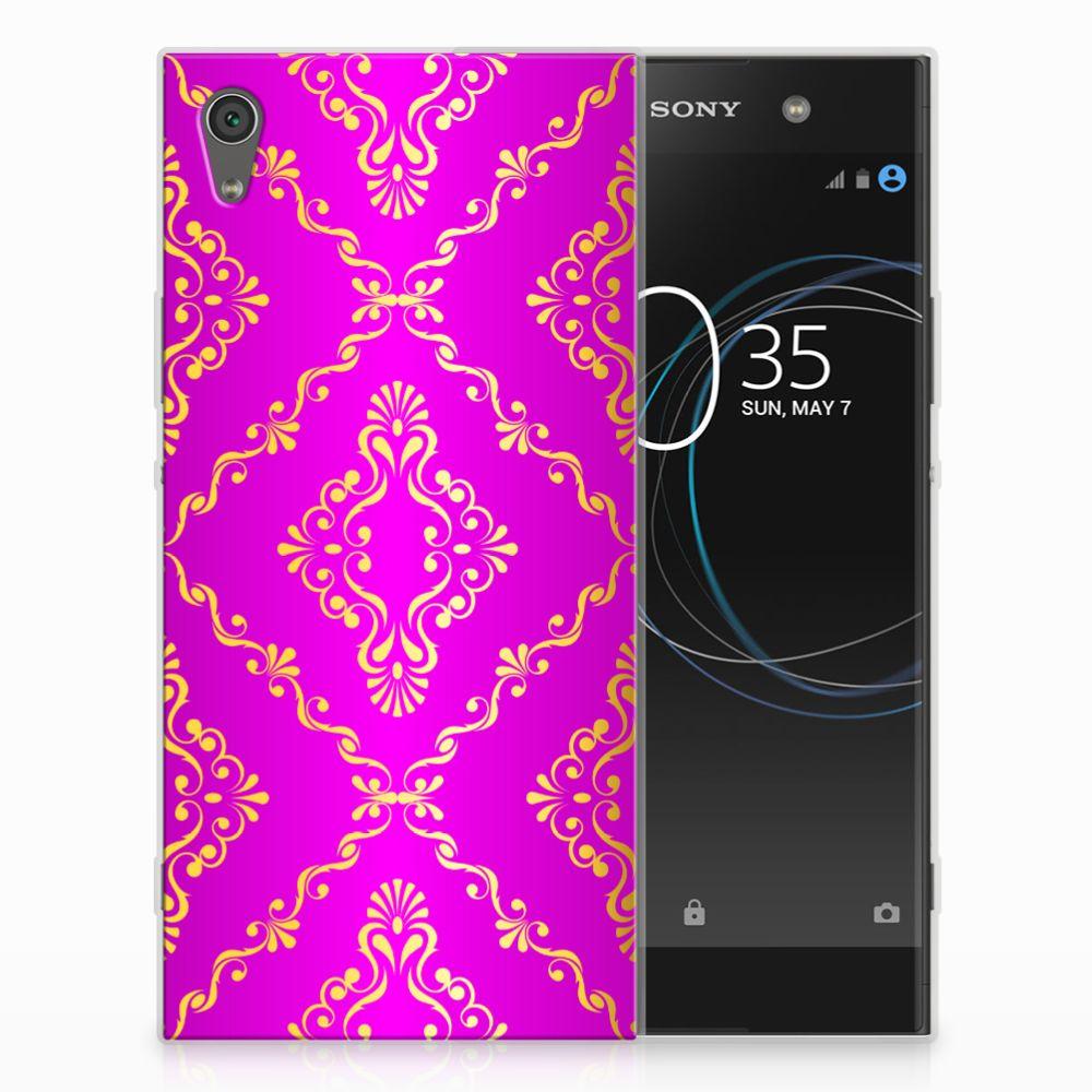 Sony Xperia XA1 Ultra Uniek TPU Hoesje Barok Roze