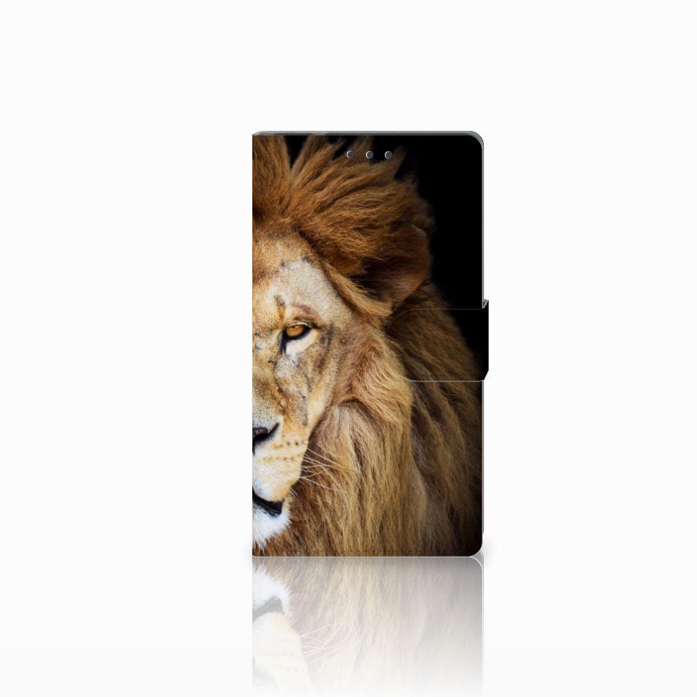 Samsung Galaxy Note 4 Boekhoesje Design Leeuw