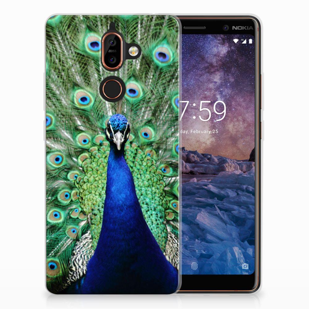 Nokia 7 Plus TPU Hoesje Design Pauw