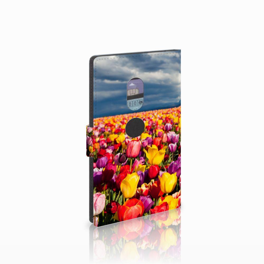 Sony Xperia XZ2 Uniek Boekhoesje Tulpen