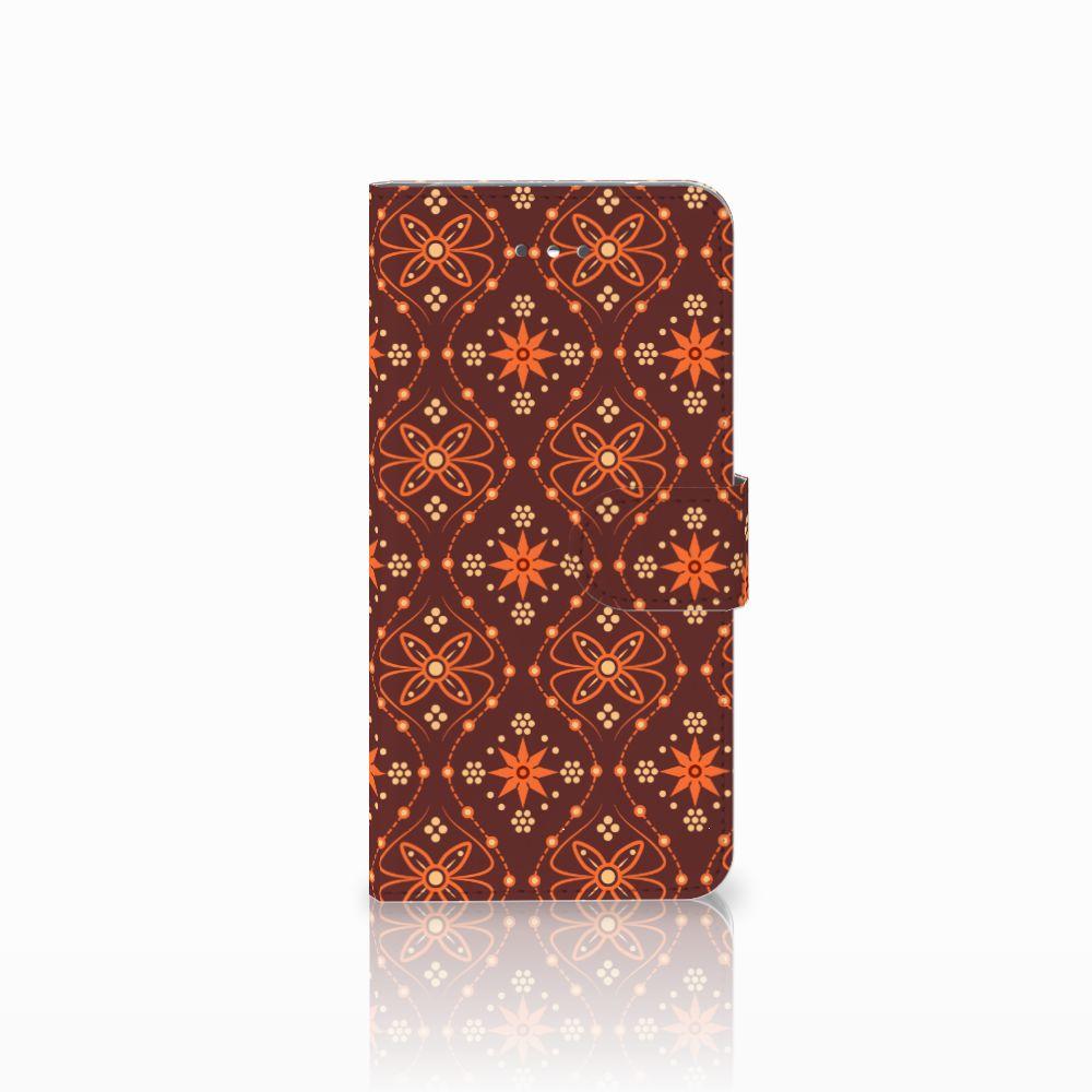 LG Nexus 5X Uniek Boekhoesje Batik Brown