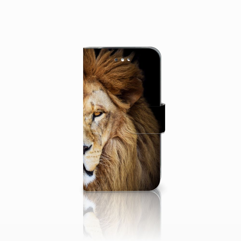 Samsung Galaxy S4 Boekhoesje Design Leeuw