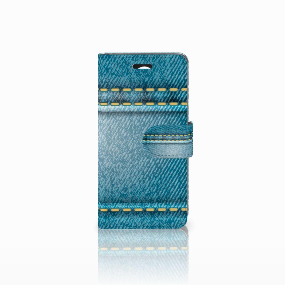 Huawei Y3 2   Y3 II Boekhoesje Design Jeans