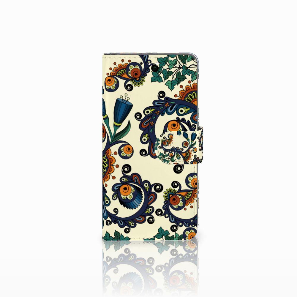 Honor 9 Boekhoesje Design Barok Flower