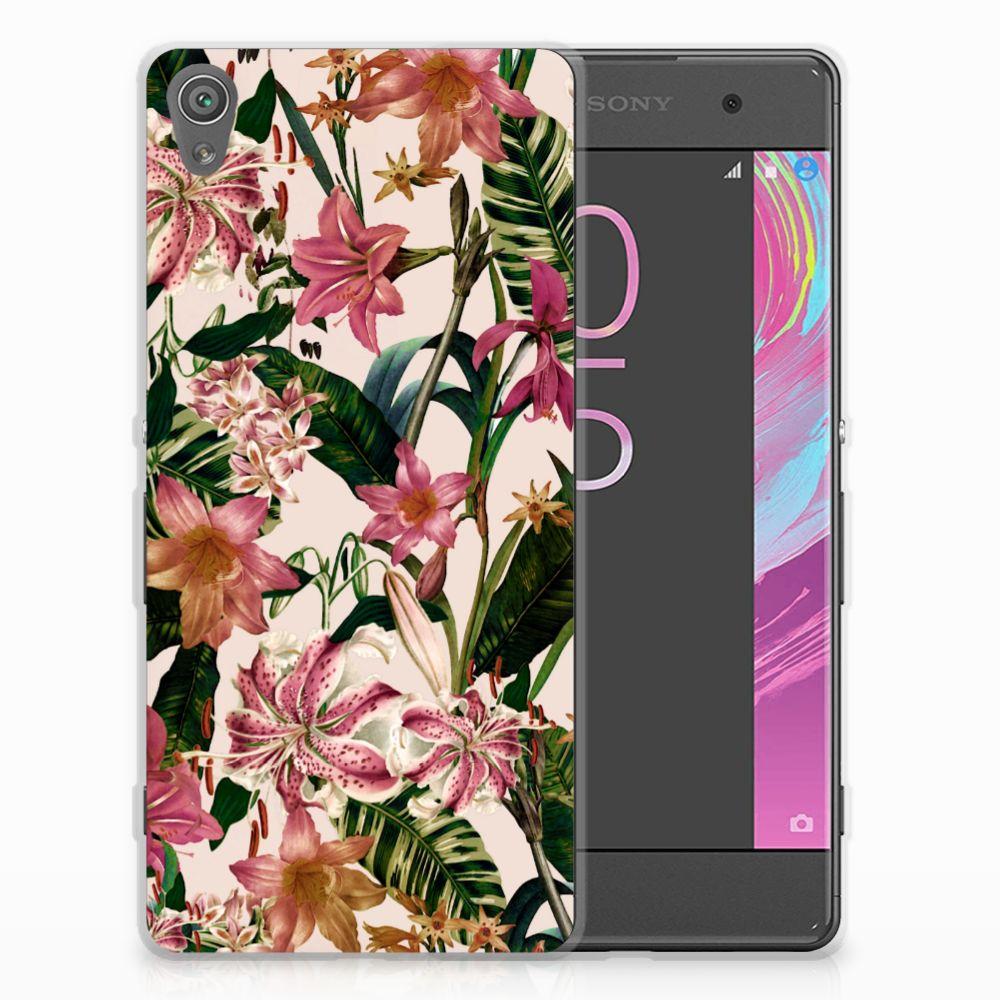 Sony Xperia XA | XA Dual Uniek TPU Hoesje Flowers