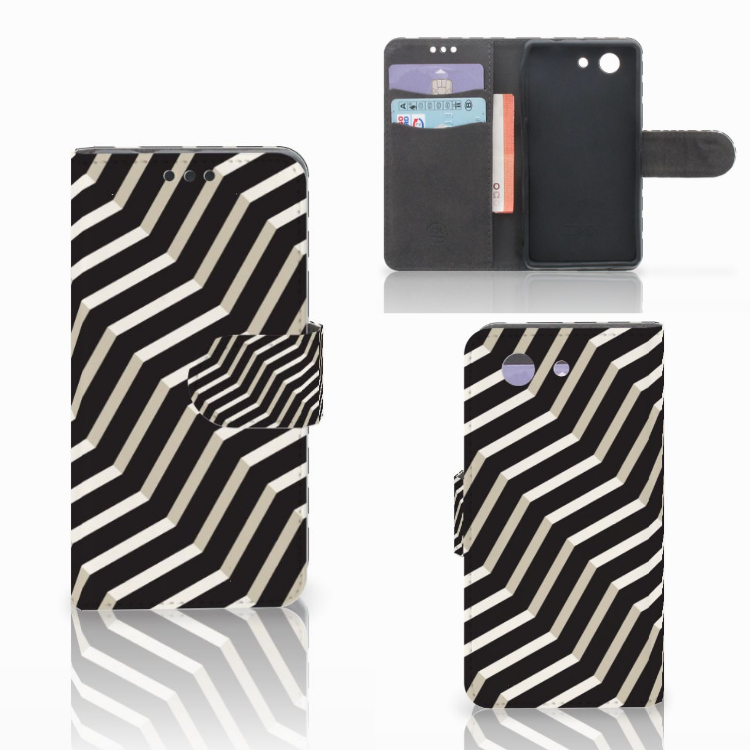 Sony Xperia Z3 Compact Bookcase Illusion