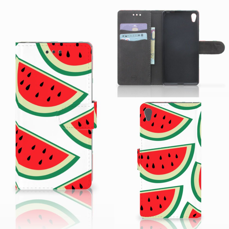 Sony Xperia E5 Book Cover Watermelons