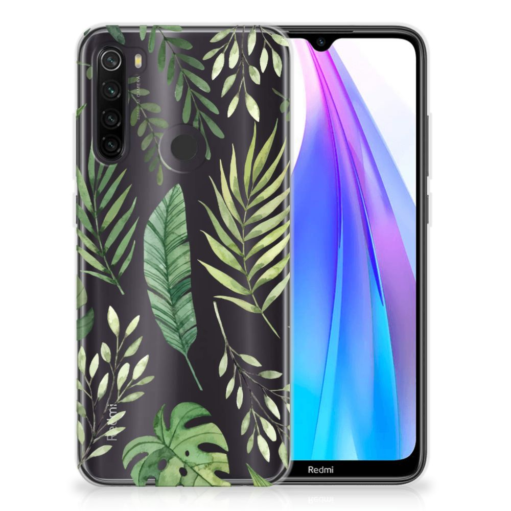 Xiaomi Redmi Note 8T TPU Case Leaves