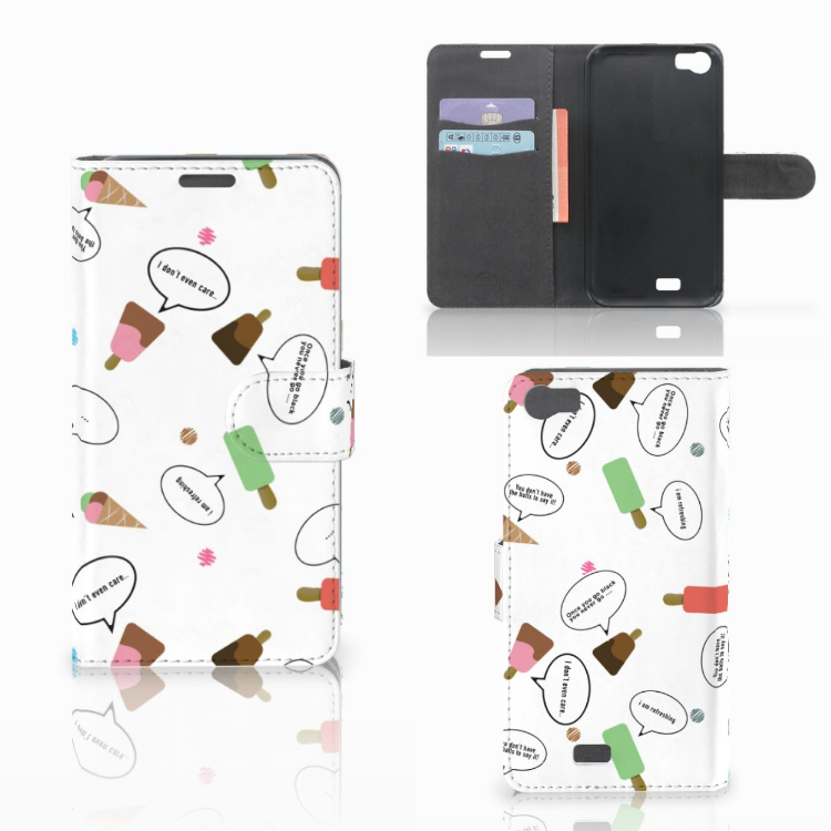 Wiko Lenny Book Cover IJsjes
