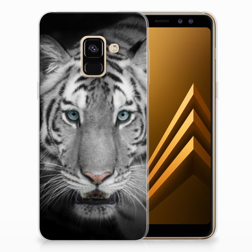 Samsung Galaxy A8 (2018) Uniek TPU Hoesje Tijger