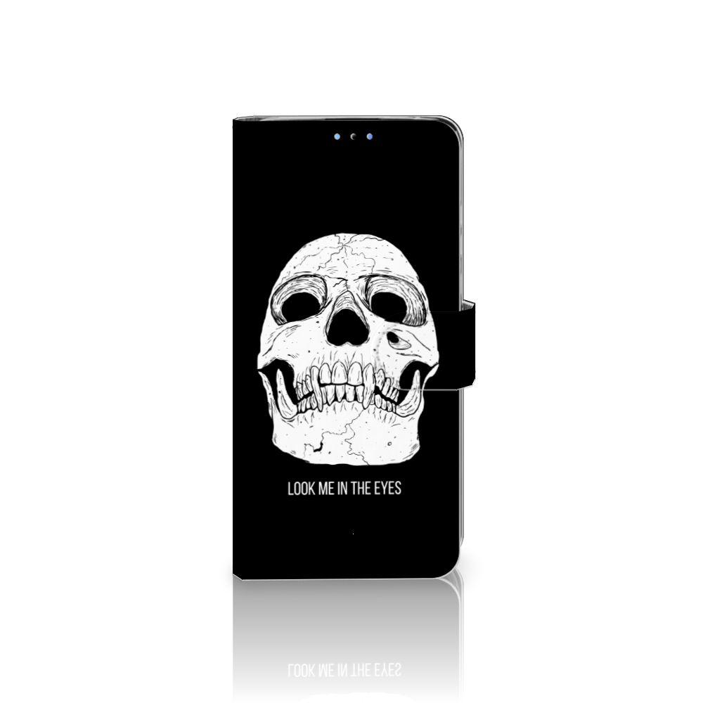 Telefoonhoesje met Naam Huawei P30 Lite (2020) Skull Eyes
