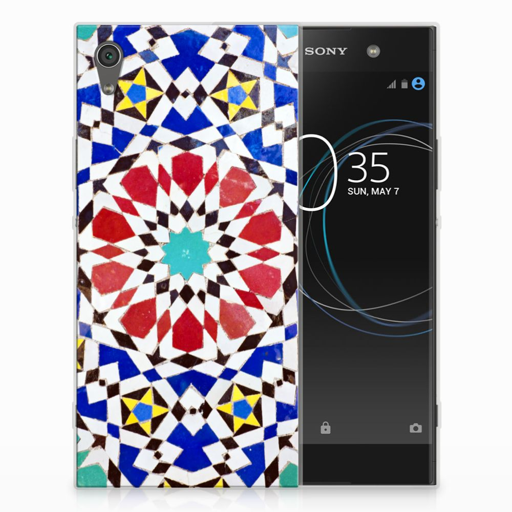 Sony Xperia XA1 Ultra TPU Hoesje Design Mozaïek