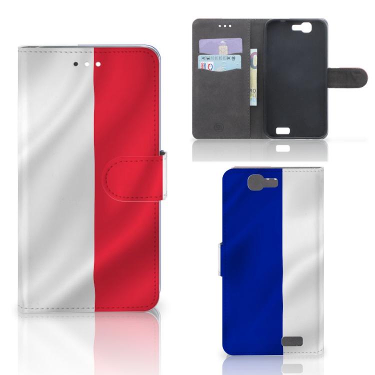 Huawei Ascend G7 Bookstyle Case Frankrijk