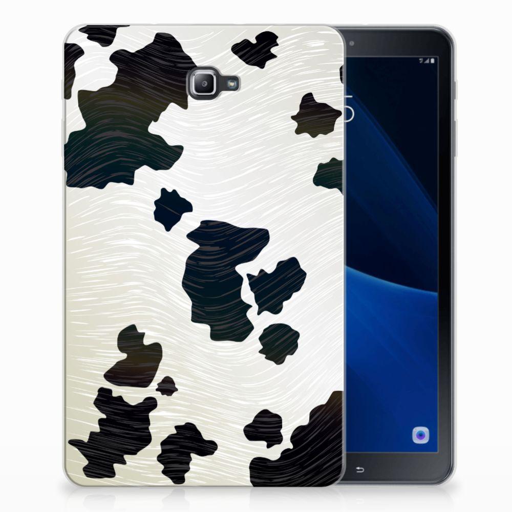 Samsung Galaxy Tab A 10.1 Back Case Koeienvlekken