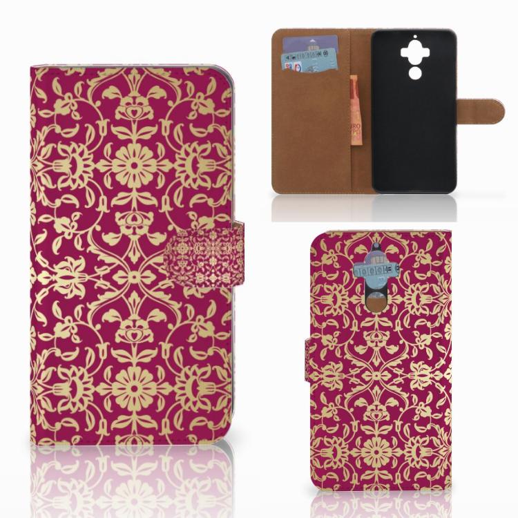 Wallet Case Huawei Mate 9 Barok Pink