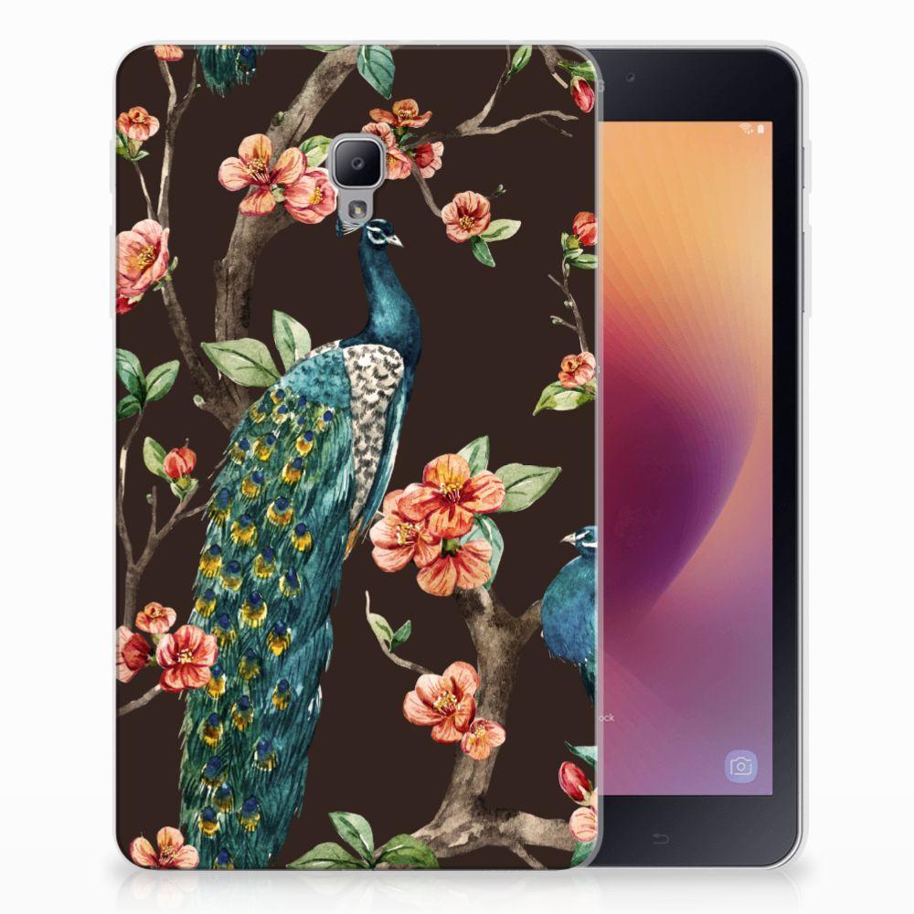 Samsung Galaxy Tab A 8.0 (2017) Back Case Pauw met Bloemen