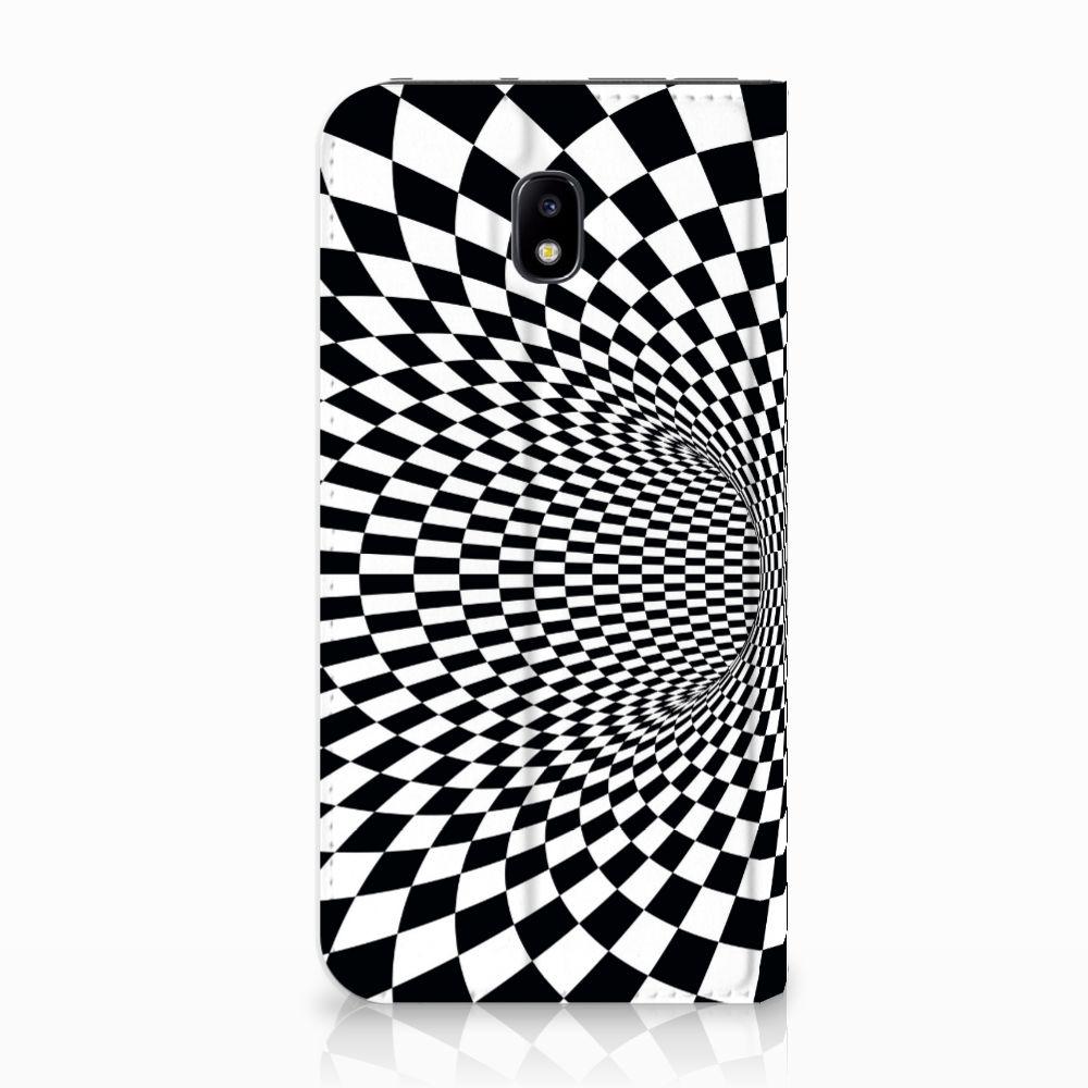 Samsung Galaxy J5 2017 Standcase Hoesje Design Illusie