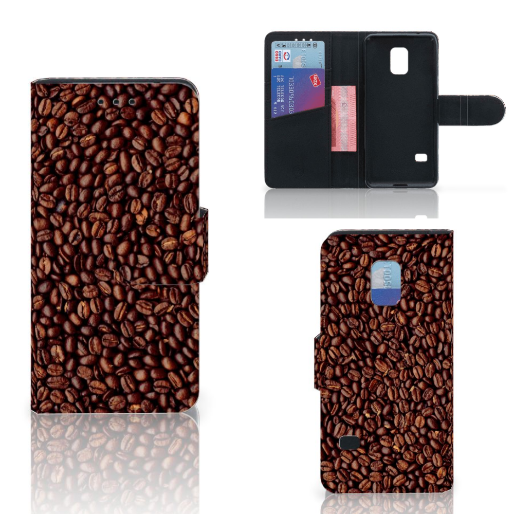 Samsung Galaxy S5 Mini Book Cover Koffiebonen