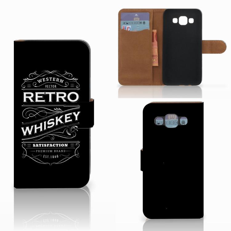 Samsung Galaxy E5 Book Cover Whiskey