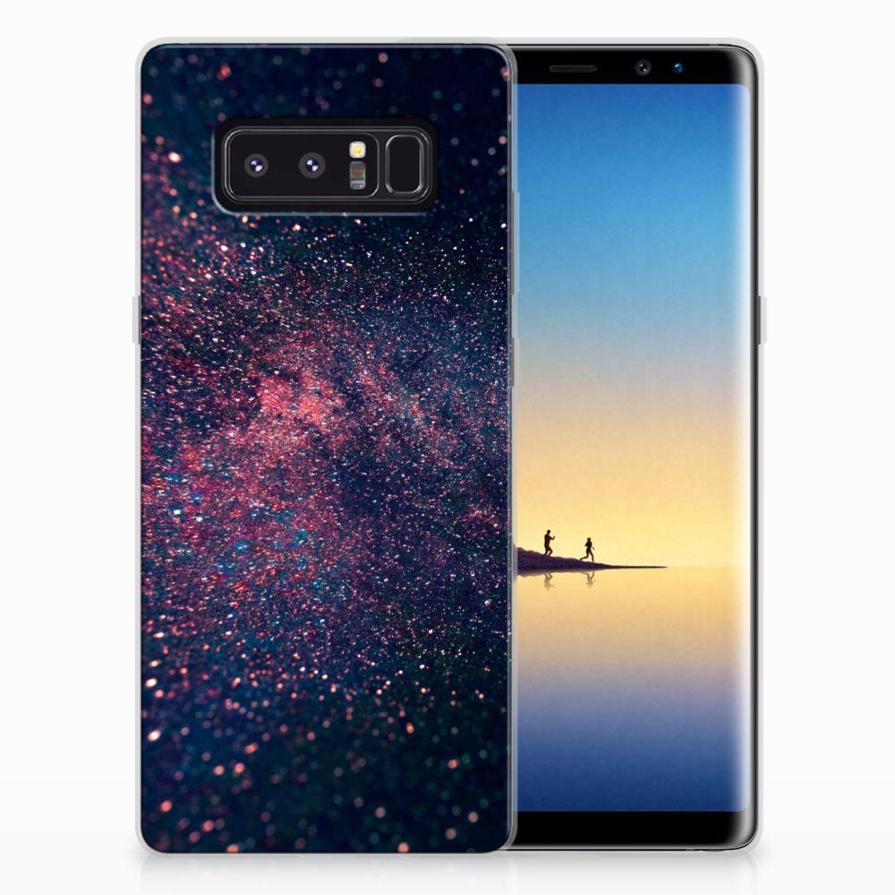 Samsung Galaxy Note 8 TPU Hoesje Stars
