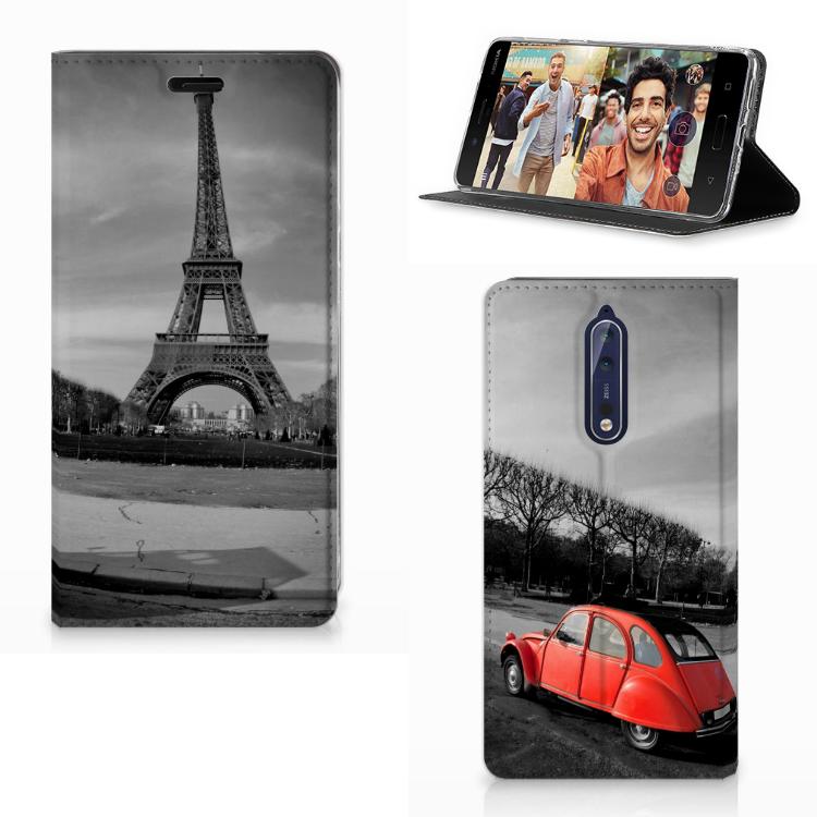 Nokia 8 Book Cover Eiffeltoren