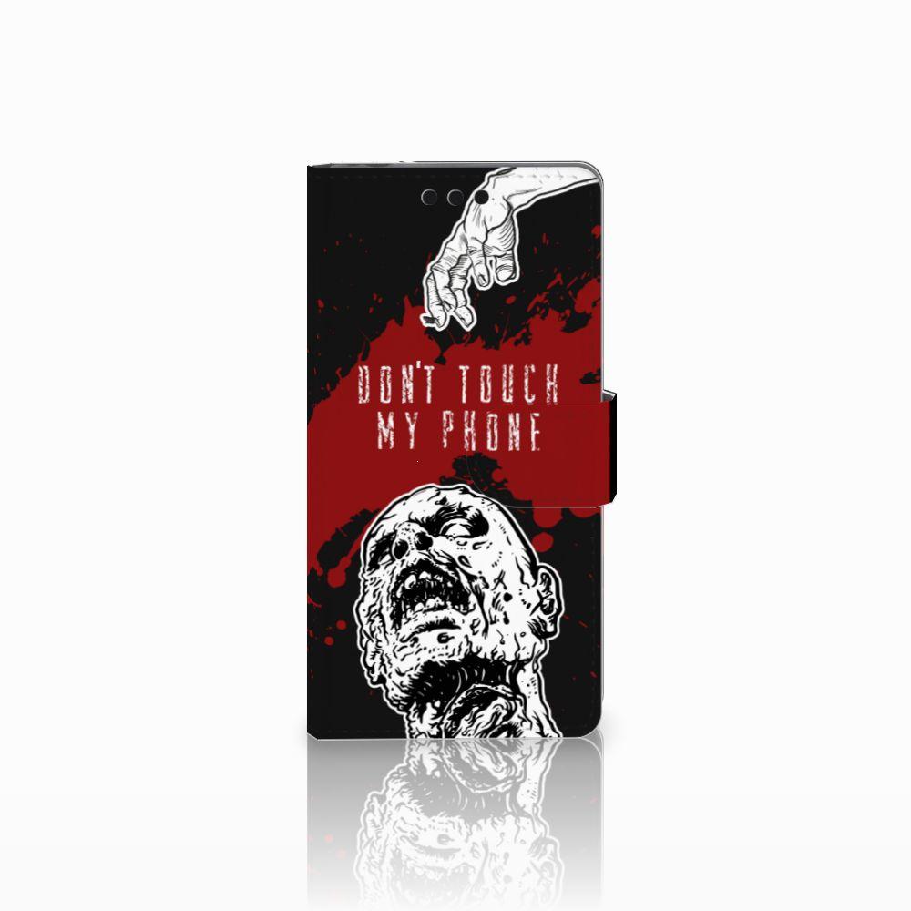 Sony Xperia M4 Aqua Boekhoesje Design Zombie Blood