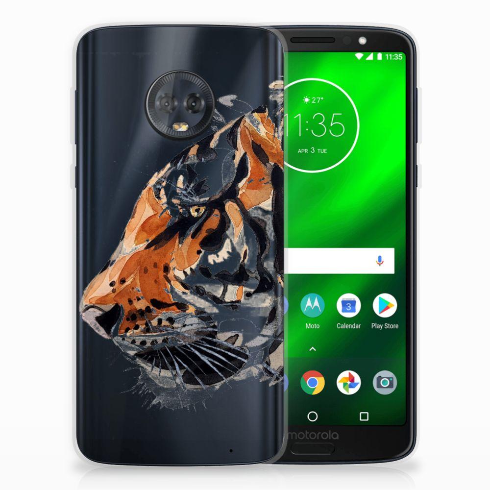 Hoesje maken Motorola Moto G6 Plus Watercolor Tiger