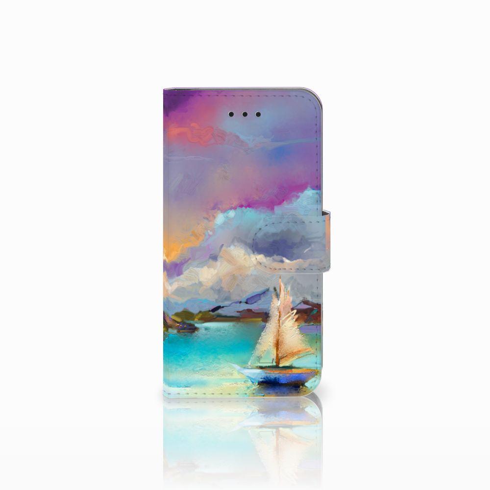Apple iPhone X | Xs Uniek Boekhoesje Boat