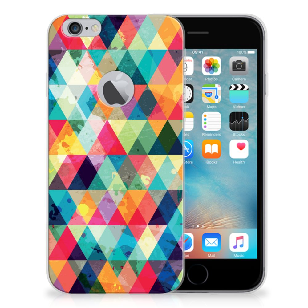 Apple iPhone 6 Plus | 6s Plus TPU bumper Geruit