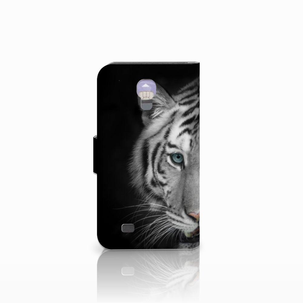 Samsung Galaxy S4 Telefoonhoesje met Pasjes Tijger