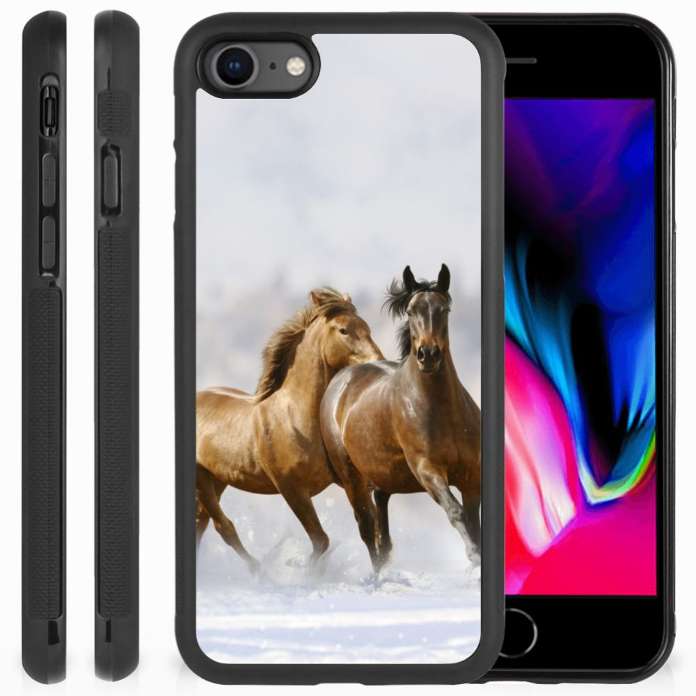 Apple iPhone 7   8 Back Cover Paarden