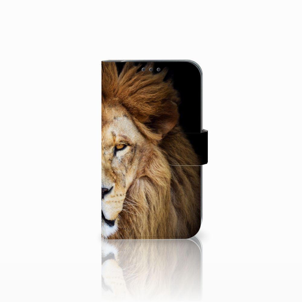 Samsung Galaxy Xcover 4 Boekhoesje Design Leeuw