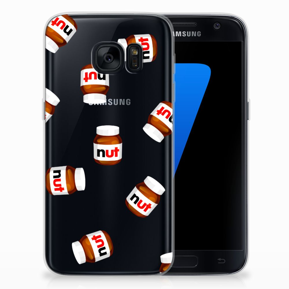 Samsung Galaxy S7 Siliconen Case Nut Jar