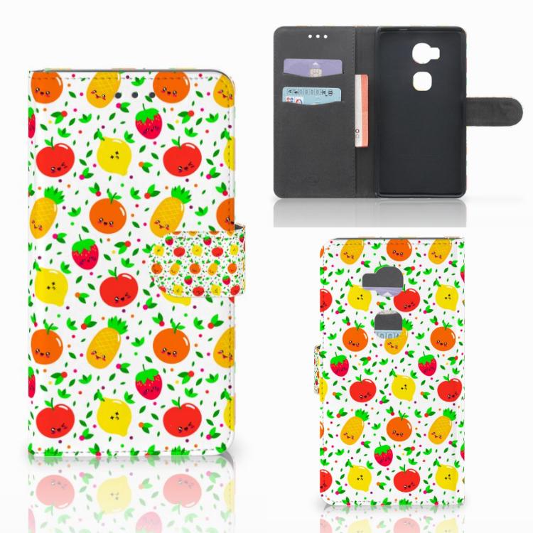 Huawei Honor 5X Book Cover Fruits
