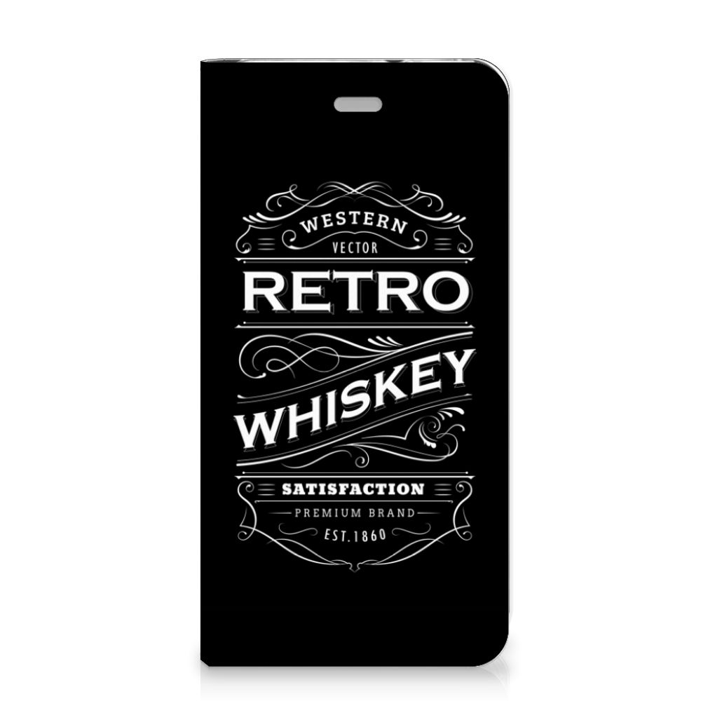 Huawei P10 Lite Flip Style Cover Whiskey